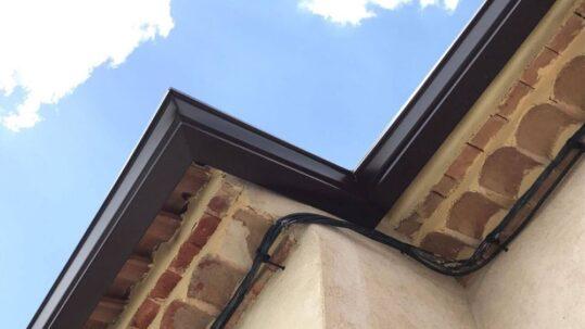 ¿Qué pasaría en una casa si no tiene canalones pluviales?