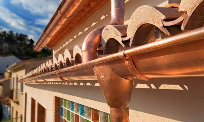 Cálculo de los canalones y bajantes por superficie de tejado